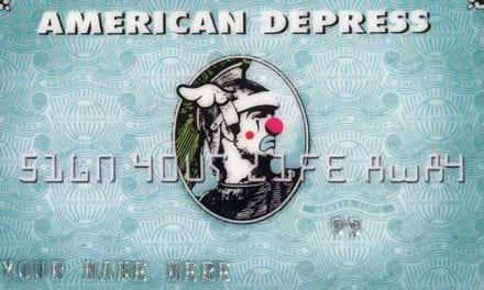[L'OBJET DE LA SEMAINE] Comment payez-vous? En American Depress!