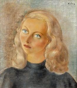 moise-kisling-michèle-morgan-1942-auctionlab©Artcurial