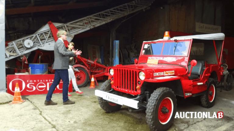pompier Marcel Alves Auctionlab enchères