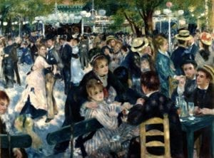 bal du moulin de la galette Renoir Auctionlab Caillebotte