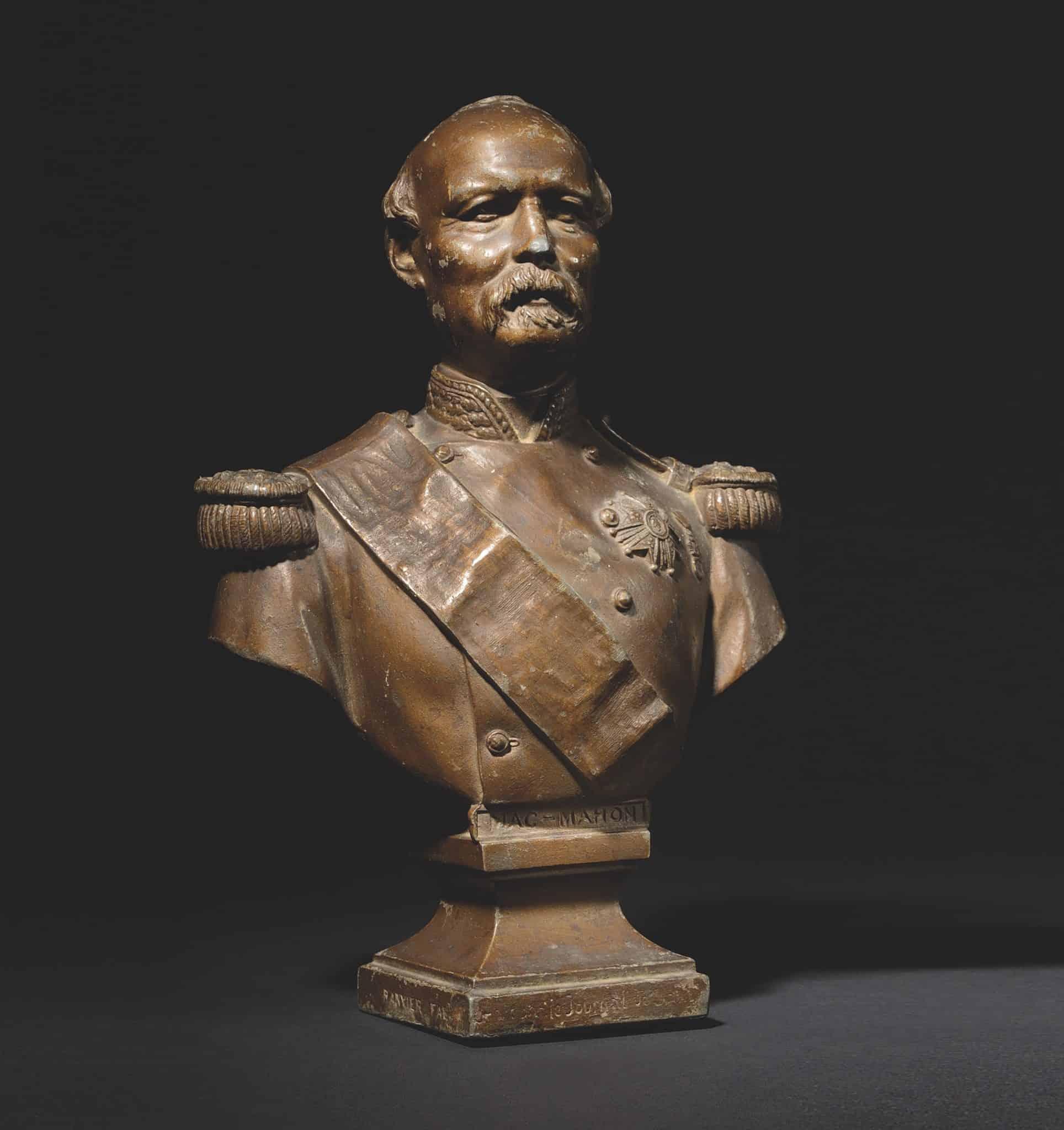 présidents mac mahon buste auctionlab osenat enchères