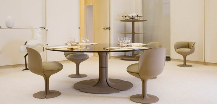 présidents salle-à-manger pierre paulin auctionlab
