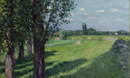 Une oeuvre de Gustave Caillebotte aux enchères