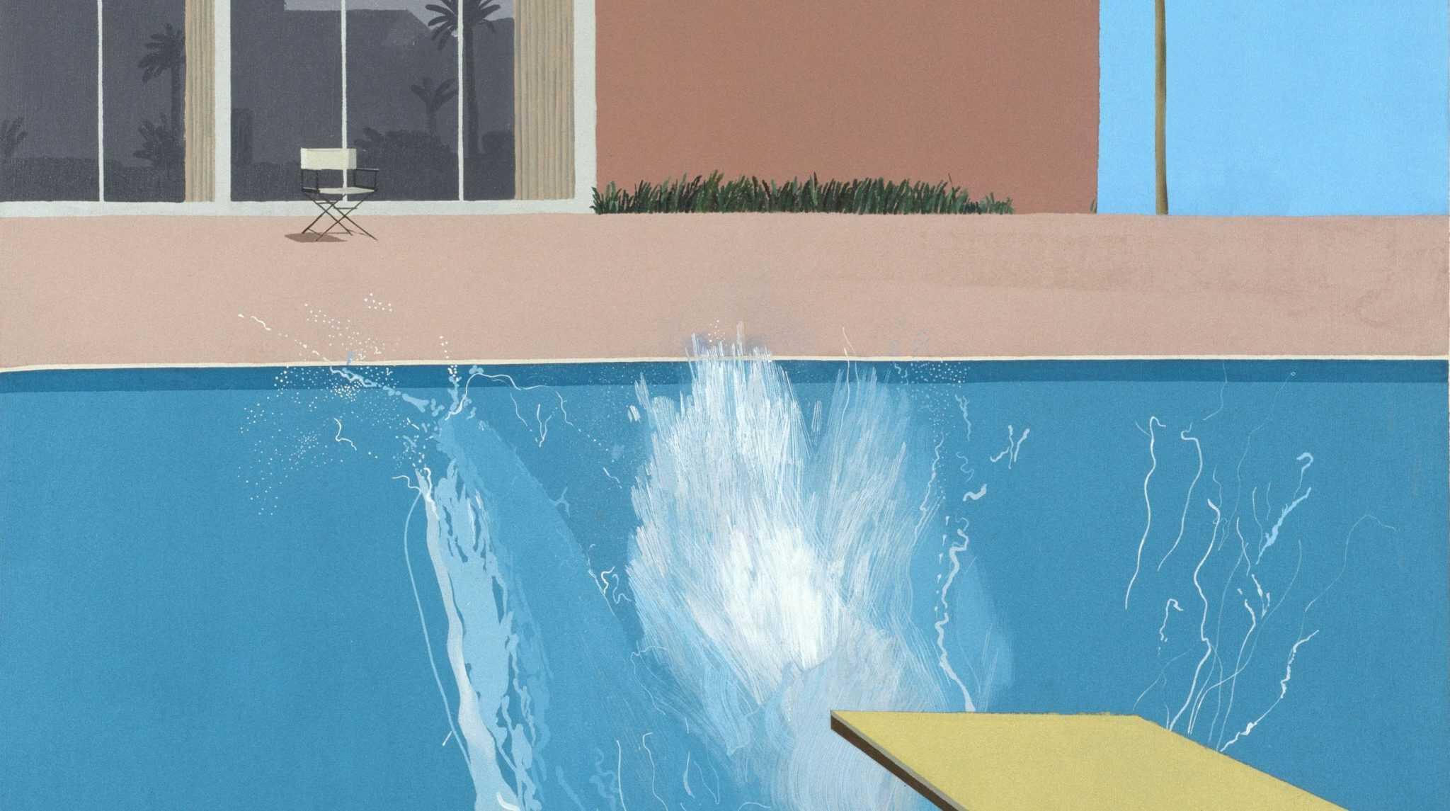 David Hockney Bigger splash auctionlab enchères