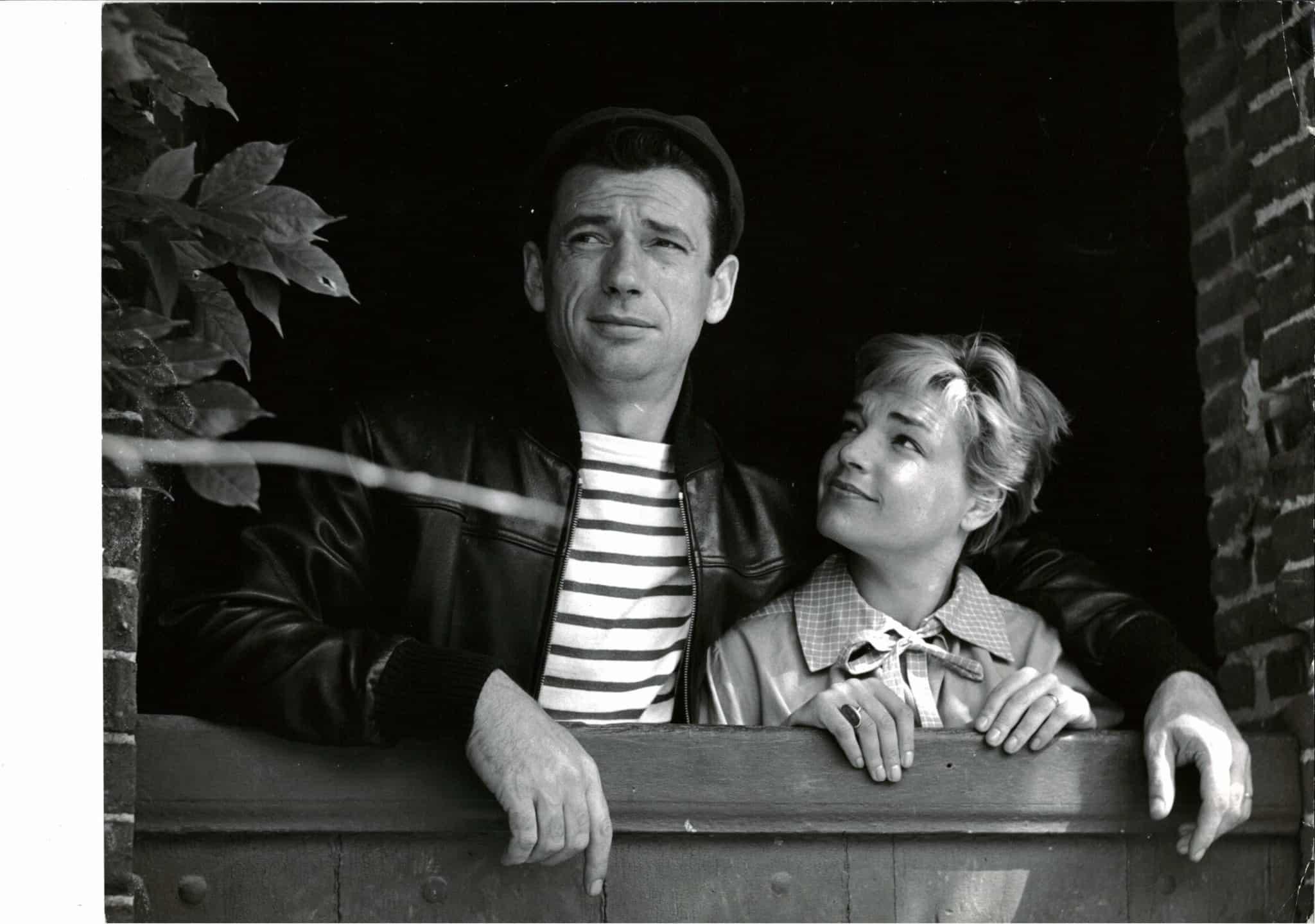 Simone Signoret Yves Montand enchères Autheuil photo auctionlab