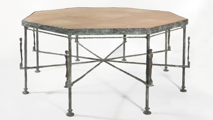 table atlantes et caryatides giacommetti hubert de givenchy enchères bilan