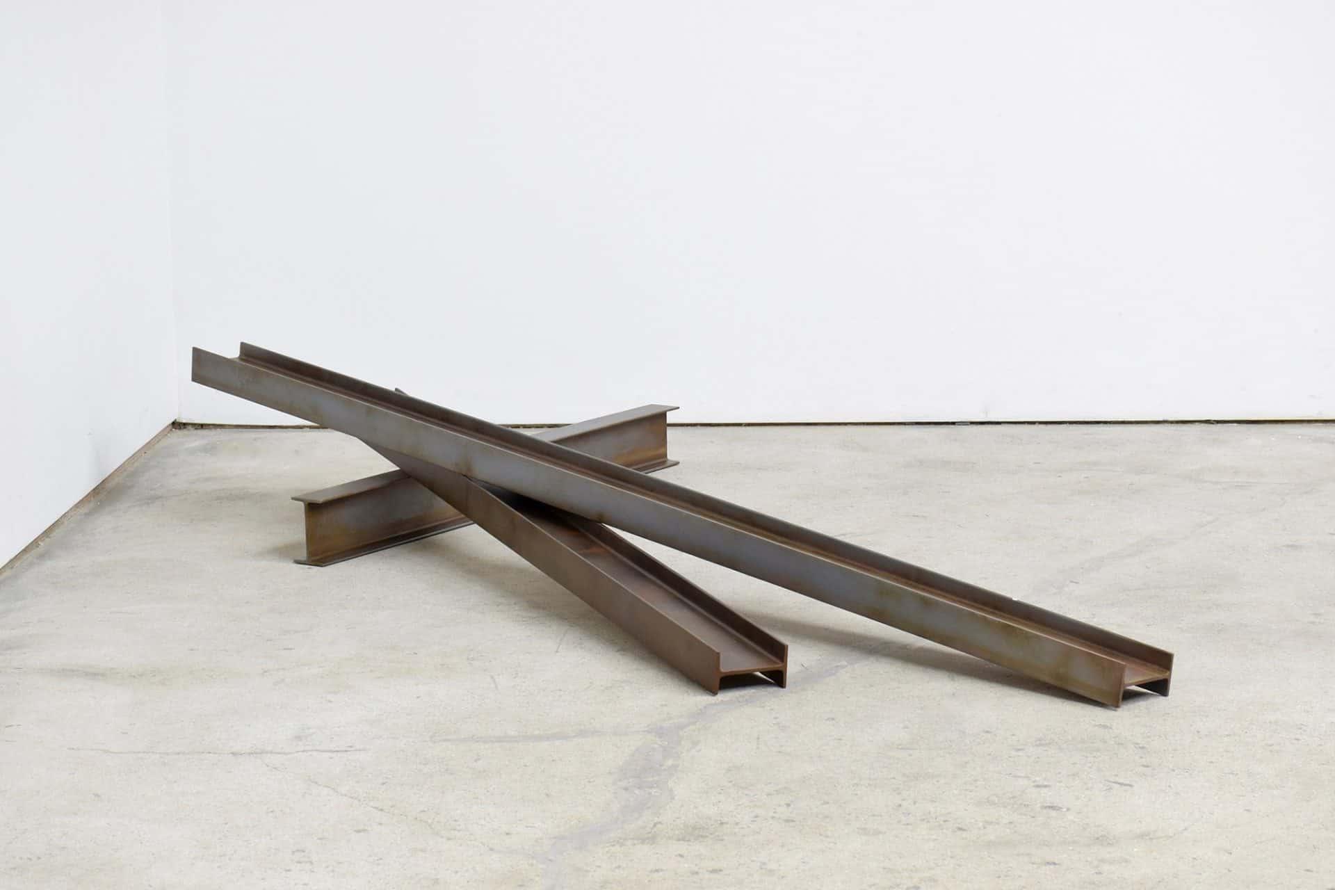 Oshiro Kaz 2016 Three steel beams