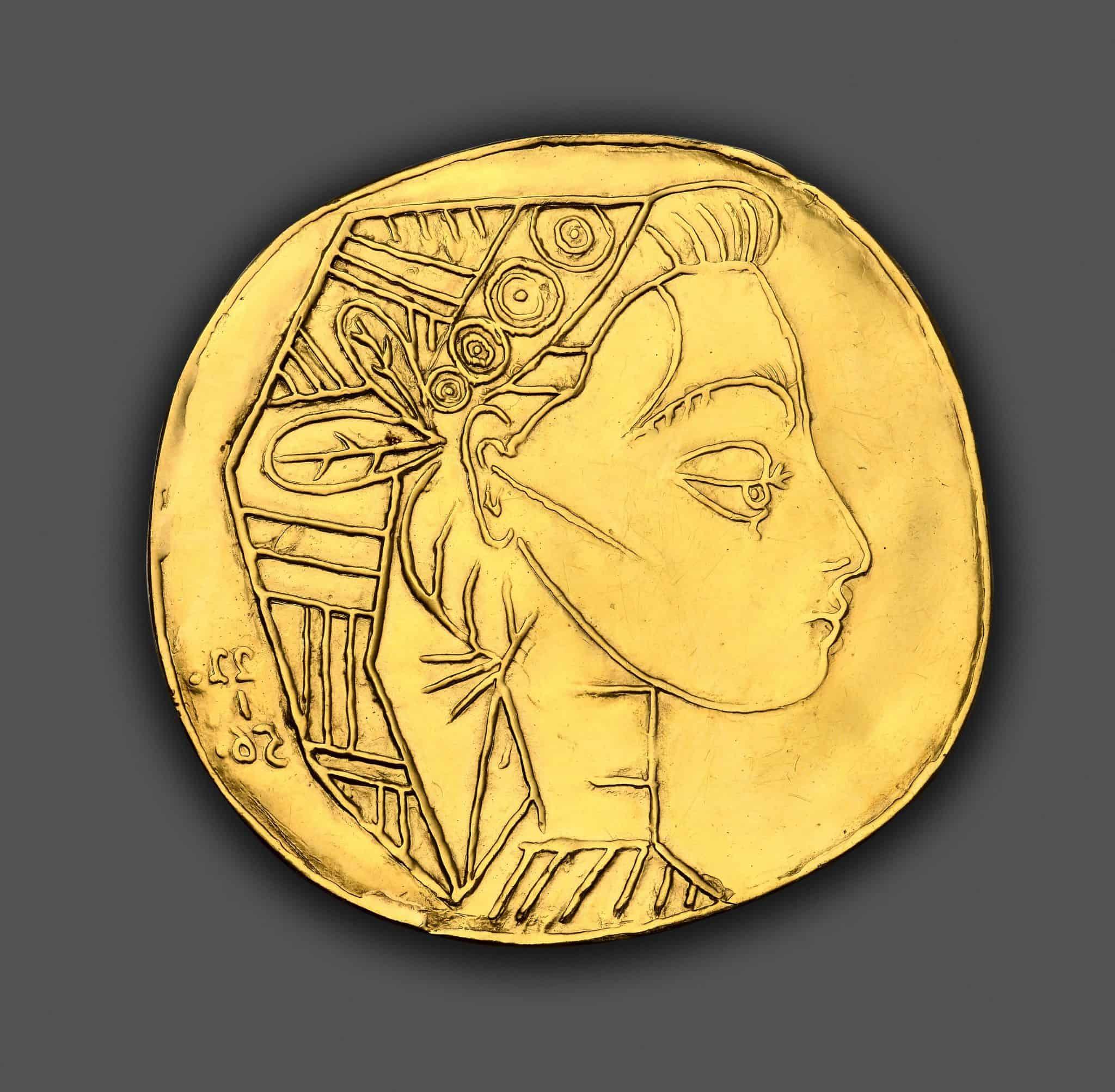 Monnaie Picasso enchères maison R&C Marseille