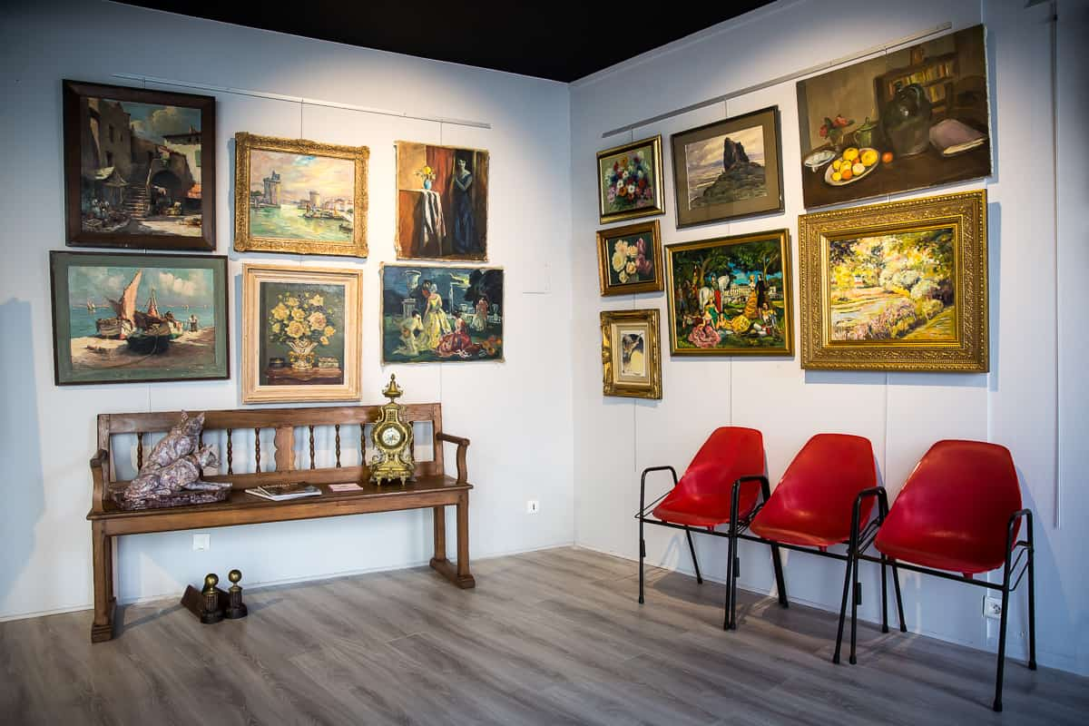 salle exposition Lagrange La Rochelle enchères