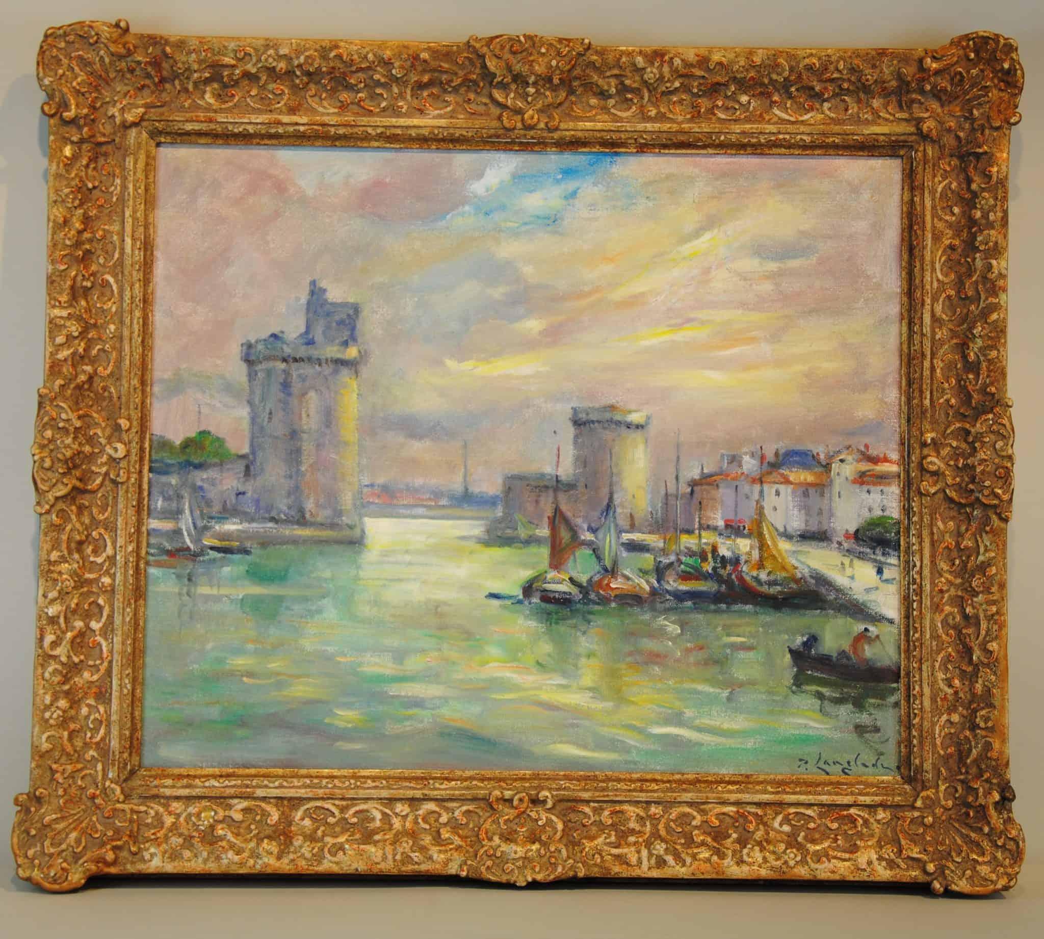 tableau Lagrange La Rochelle Enchères
