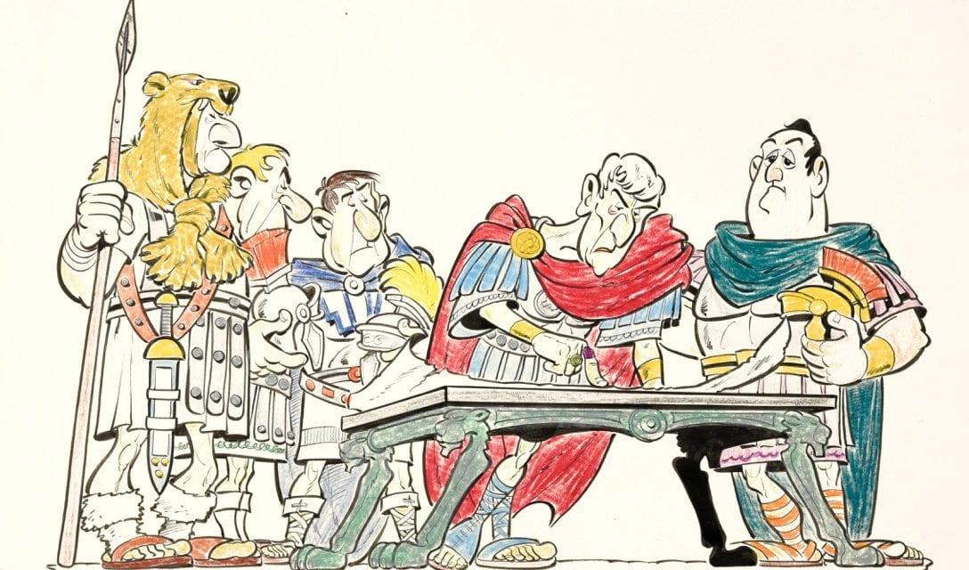 Astérix, Obélix et Pierre Tchernia aux enchères
