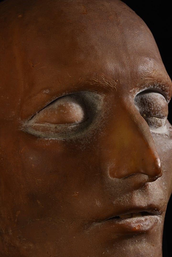 Masque mortuaire de Napoléon aux enchères Coutau Bégarie
