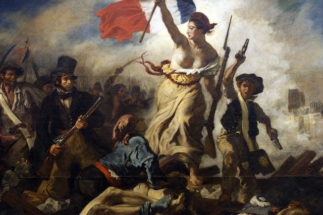 Delacroix Liberté guidant le peuple Christie's enchères