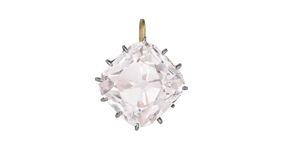 Grand Mazarin Diamant Rose enchères Christie's