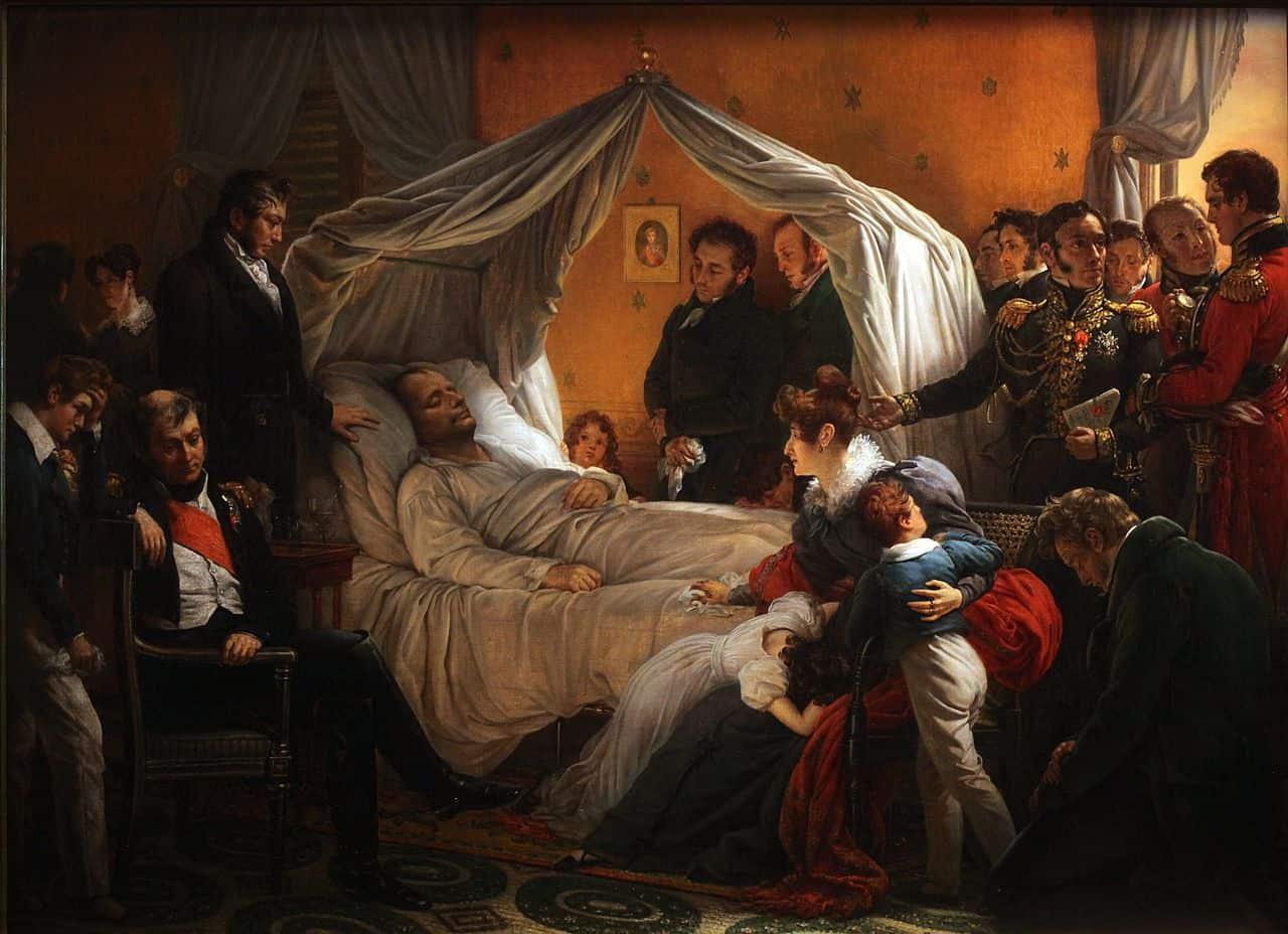 Mort de Napoléon masque mortuaire enchères Coutau-Bégarie