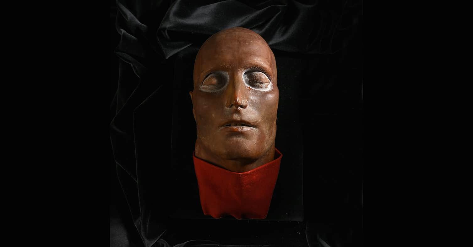 Masque mortuaire de Napoléon aux enchères