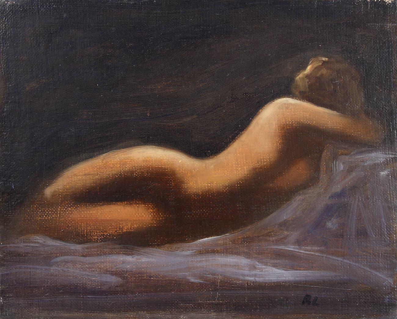 étude de nu enchères Robert Ladou