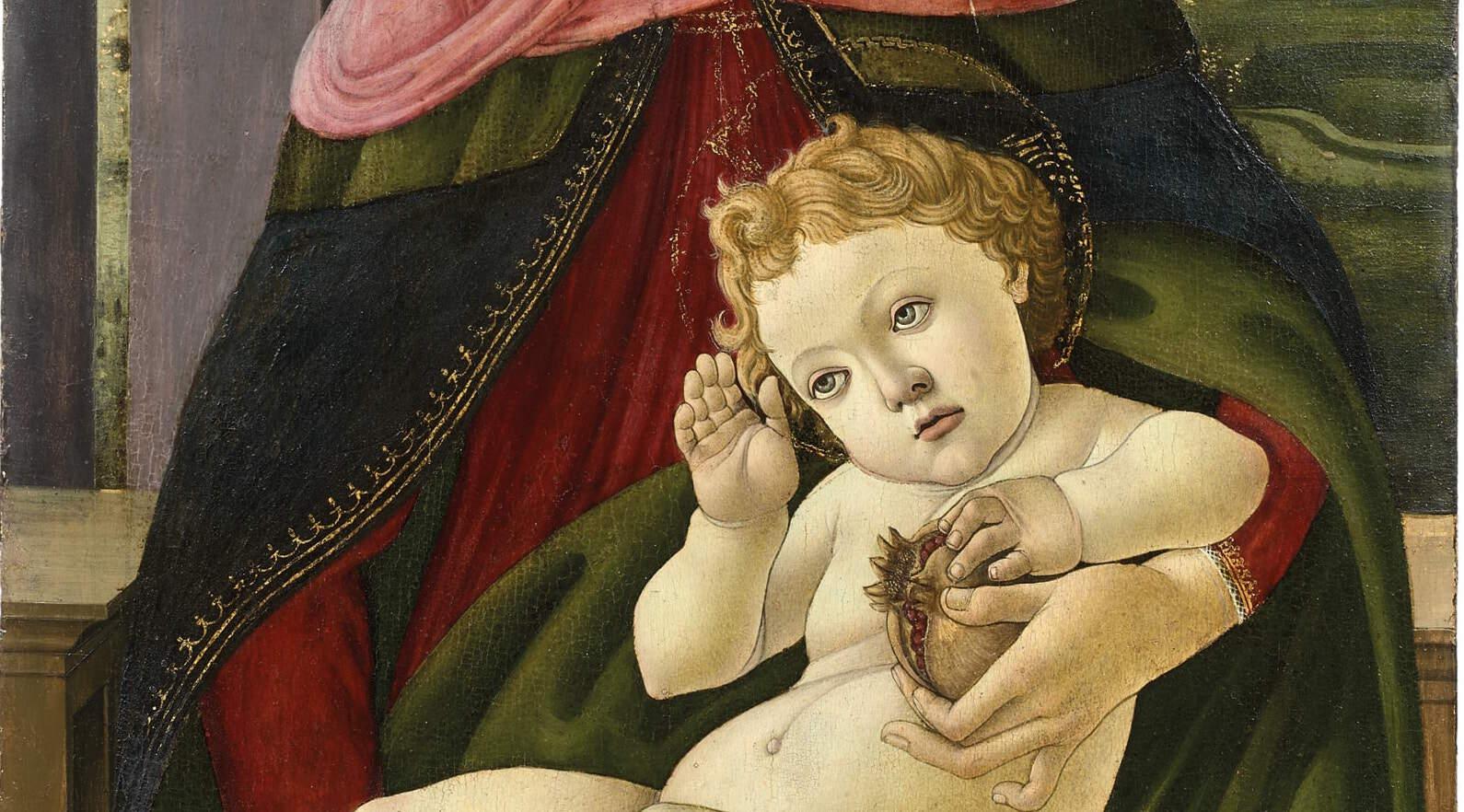 Botticelli madone à la grenade enchères Drouot Audap Mirabeau