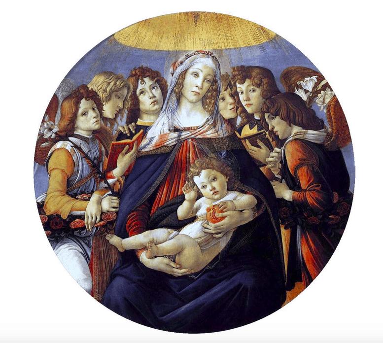 Madone à la Grenade Botticelli enchères Drouot