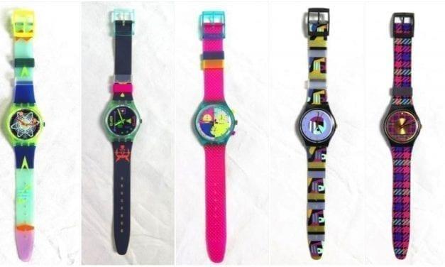 Aux enchères, l'heure est aux montres Swatch