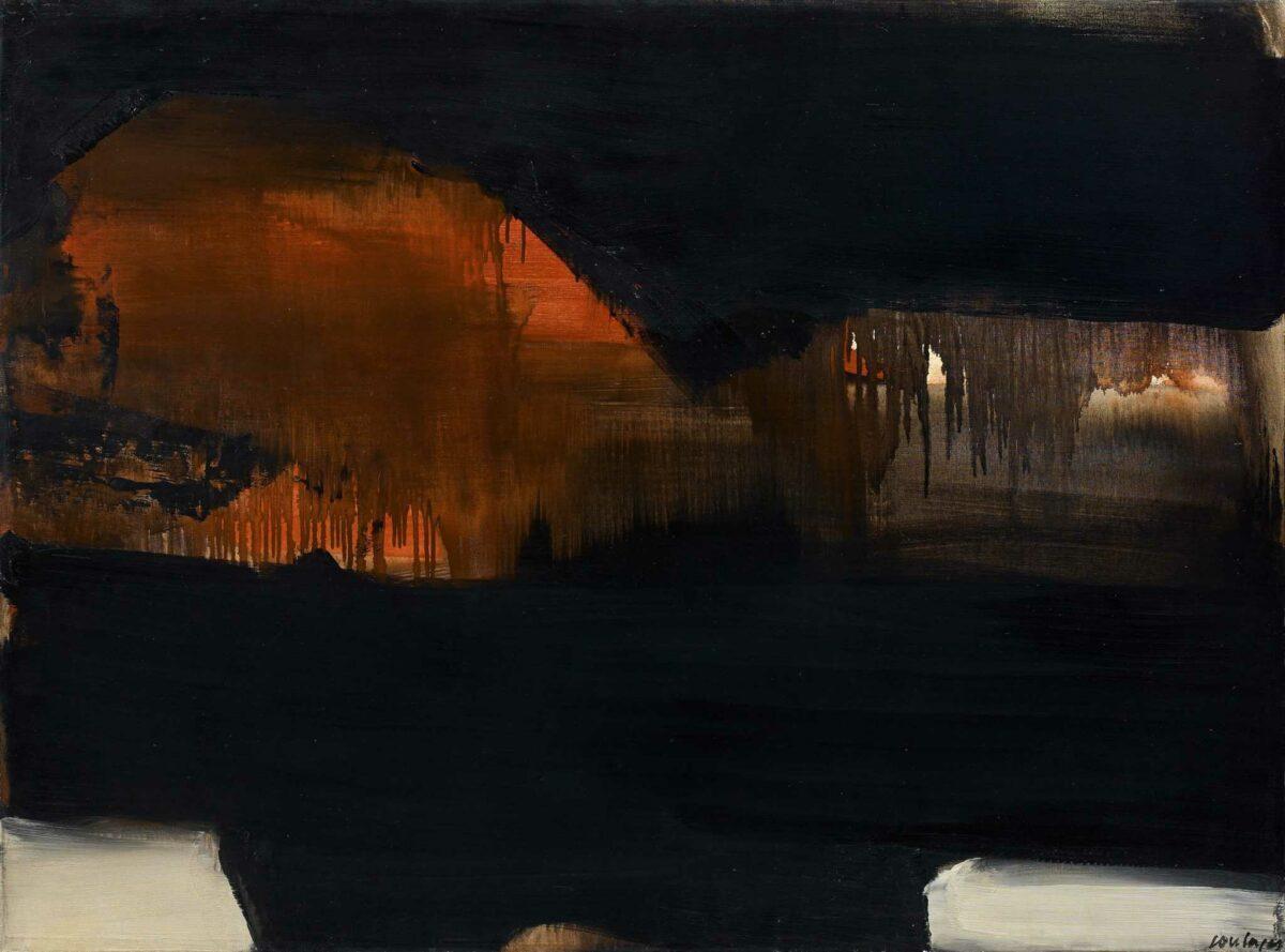 Pierre Soulages peinture aux enchères Artcurial Black Friday