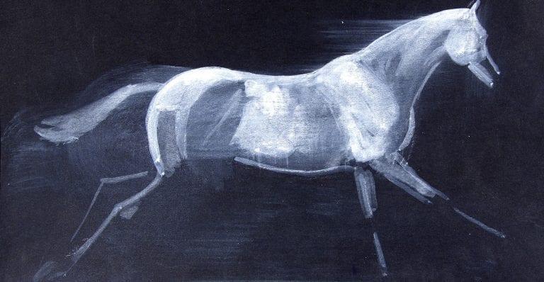 robert-ladou-peintre-cheval-encheres-bidtween