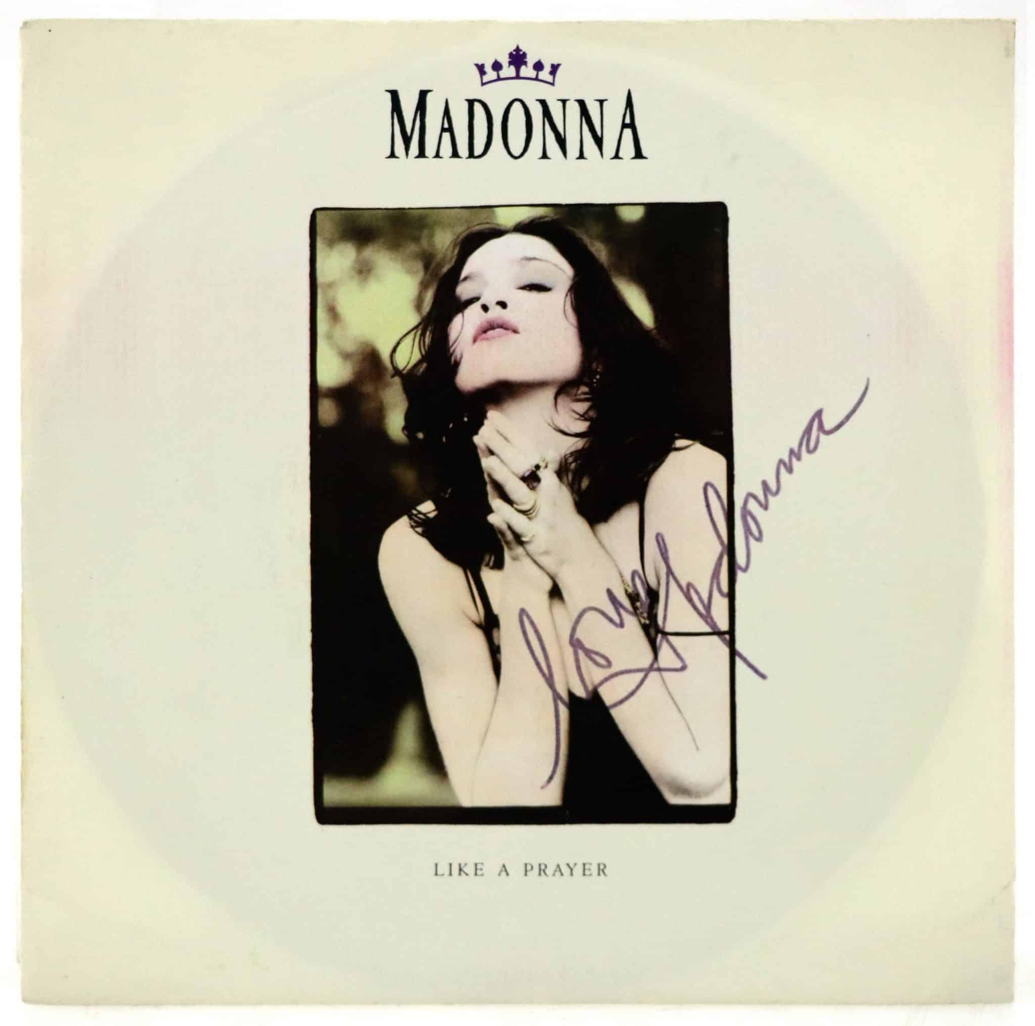 Madonna single dédicacé à offrir pour Noël