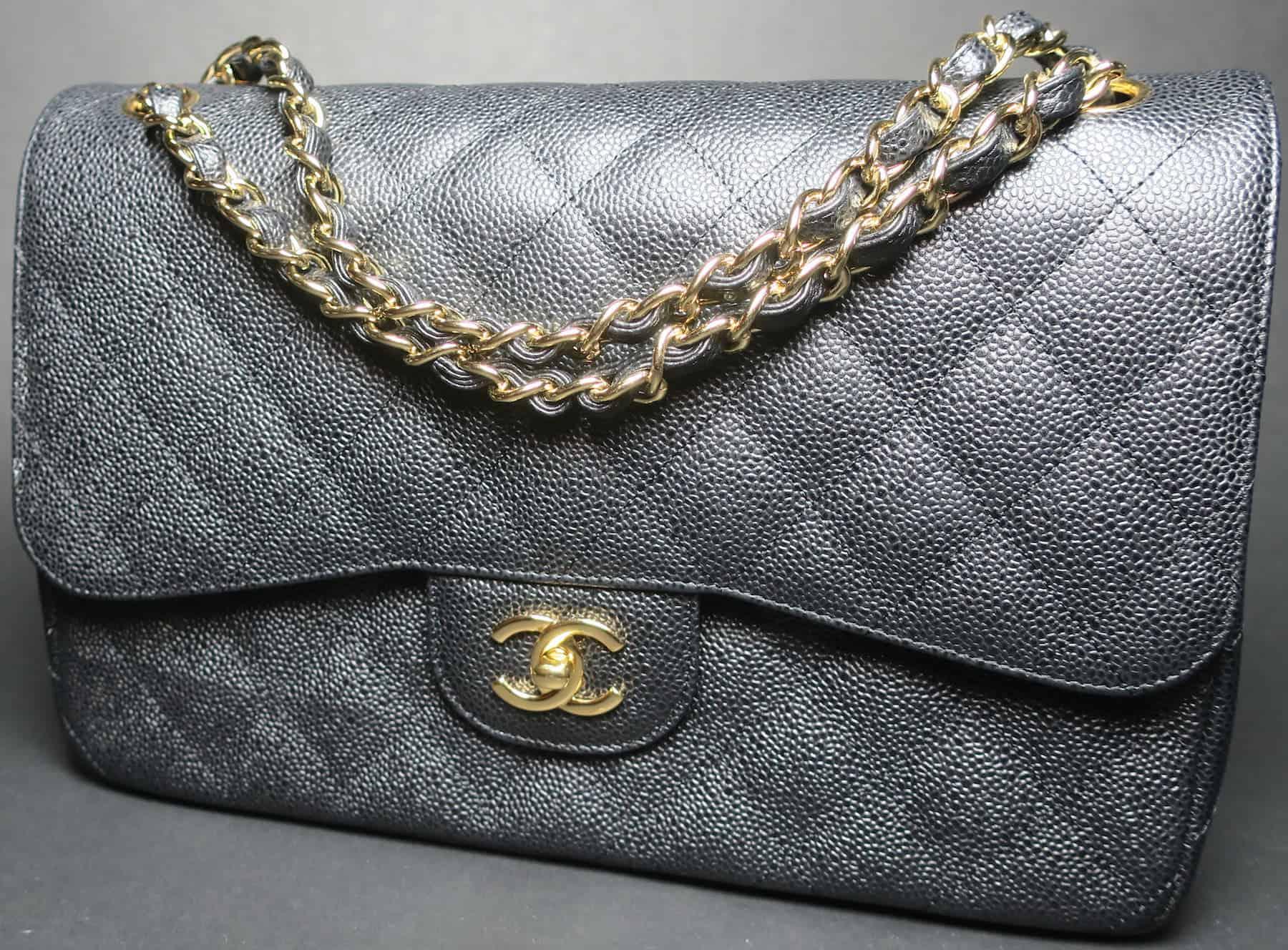 sac timeless Chanel aux enchères cadeau Noël