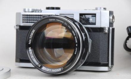 Une impressionnante collection d'appareils photos aux enchères