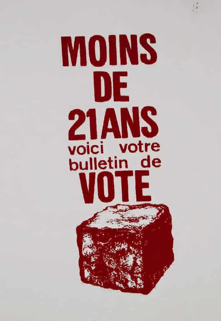 affiche révolte mai 68 encheres