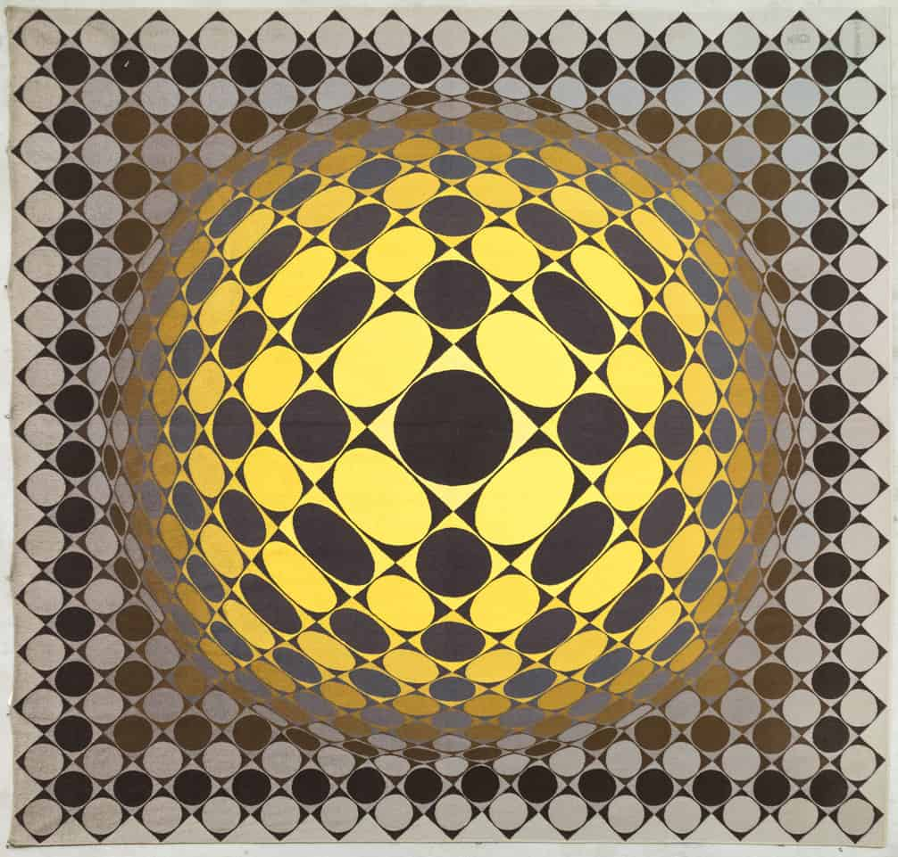 tapisserie Aubusson Vasarely