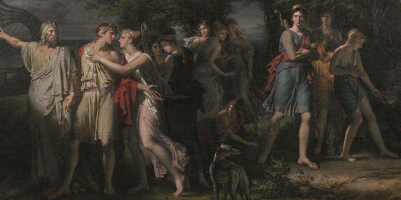 Le tableau redécouvert d'un maître du néoclassicisme aux enchères