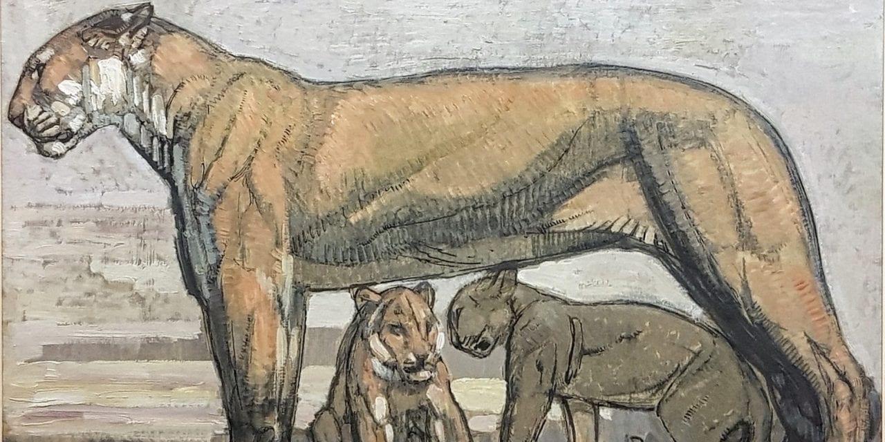 L'importante œuvre de Paul Jouve  se taillera-t-elle la part du lion aux enchères?