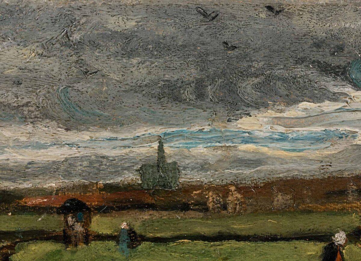 les racomodeuses de filets aux enchères Van Gogh