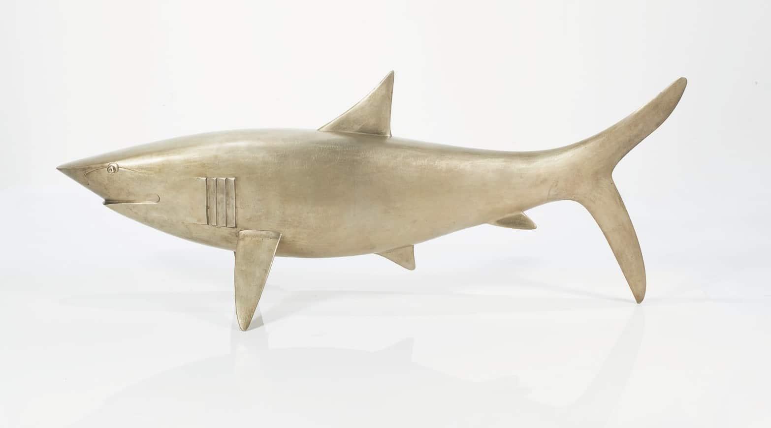 François Xavier Lalanne requin enchères