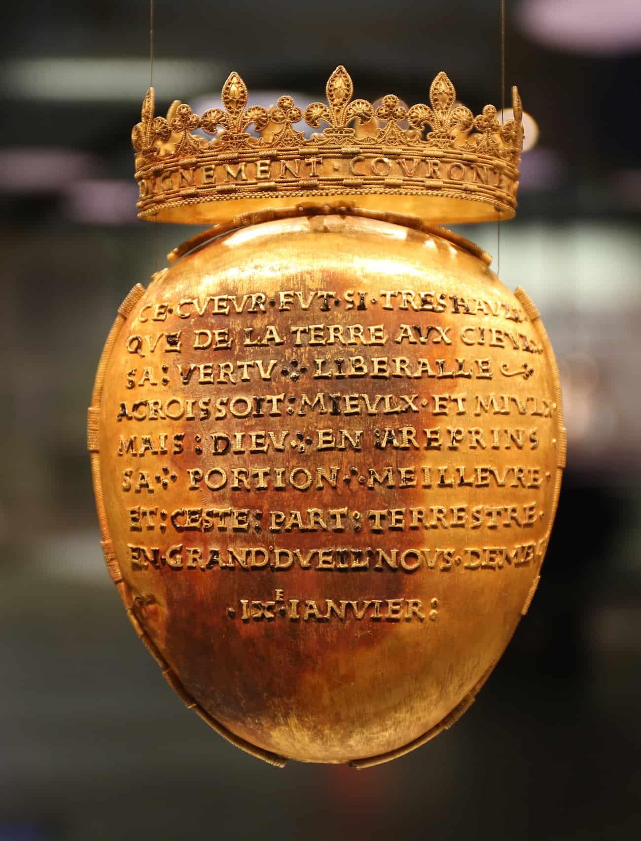 reliquaire anne de bretagne volé retrouvé