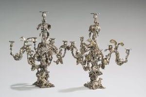 chandelier rococo aux singe josé maria david