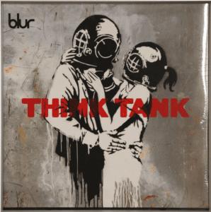 Think Tank Blur Banksy cadeau prince harry