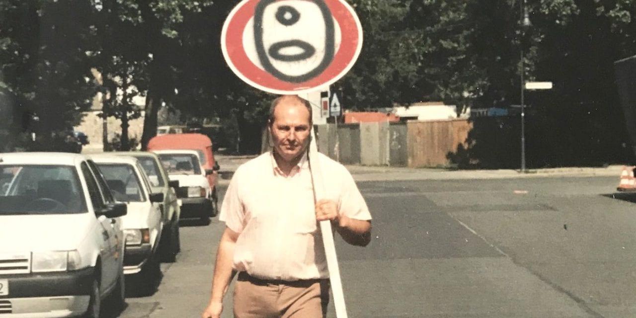 Les oeuvres de Gérard Zlotykamien, premier street artiste au monde, sont aux enchères !