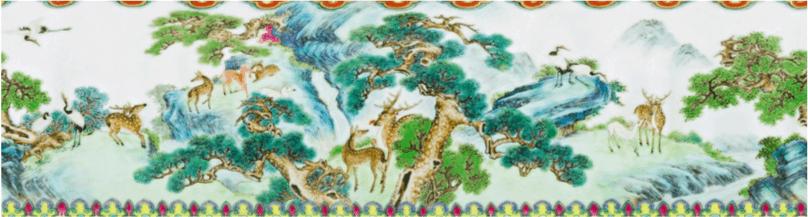 vase chinois découvert dans une boite à chaussures vendu aux enchères