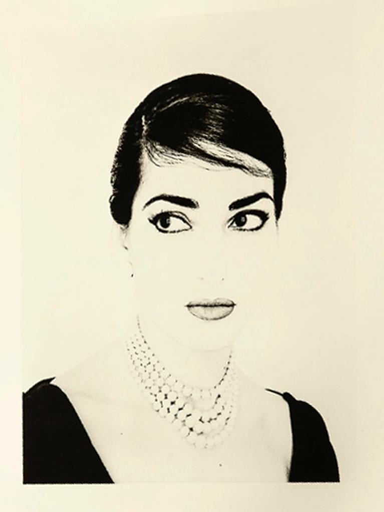 portrait maria Callas enchères Art Richelieu Rêve de Cinéma