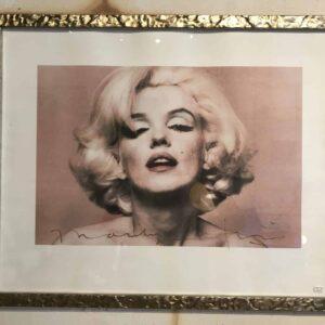 Bert Stern et Marilyn