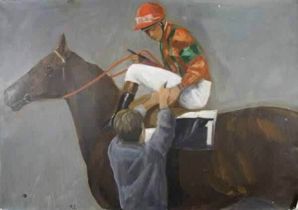 Robert Ladou - Tableau : Le jockey