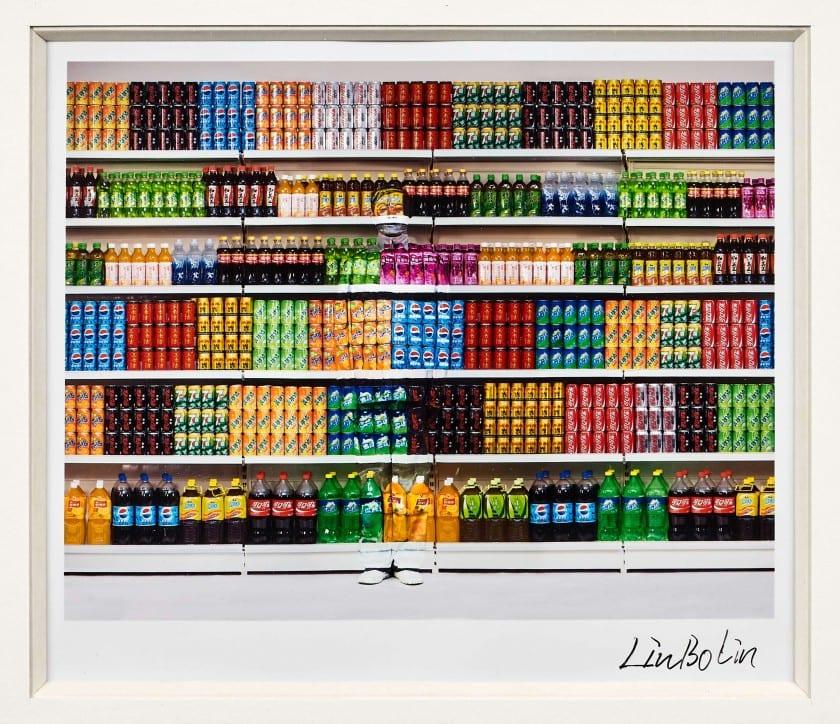 Liu BOLIN Né en 1973 Supermarket #3 - 2017