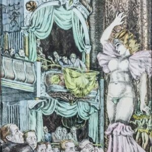 Reginald MARSH - Burlesque dancer, The show,