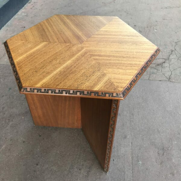 Table d'appoint Franck LLoyd Wright