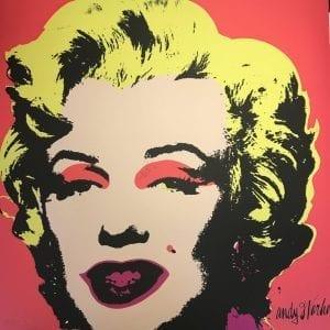 Andy Warhol - MARILYN MONROE - 1967 - baby Pink