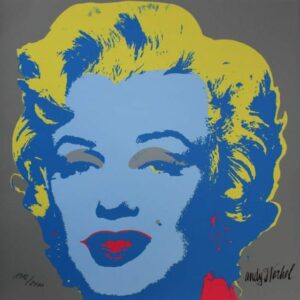 Andy Warhol - MARILYN MONROE - 1967 - baby blue