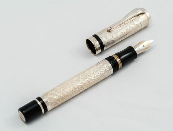 Monte Grappa - Silver fountain pen - limited edition of 500 pieces