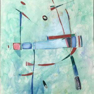 ZAVEN - Sans titre, 1988 - Gouache